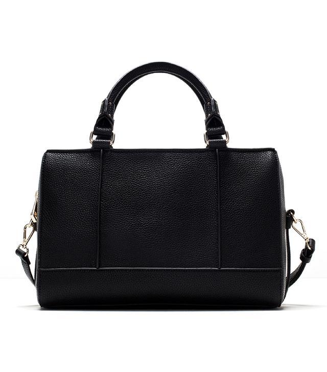 Zara Bowling Bag With Edging