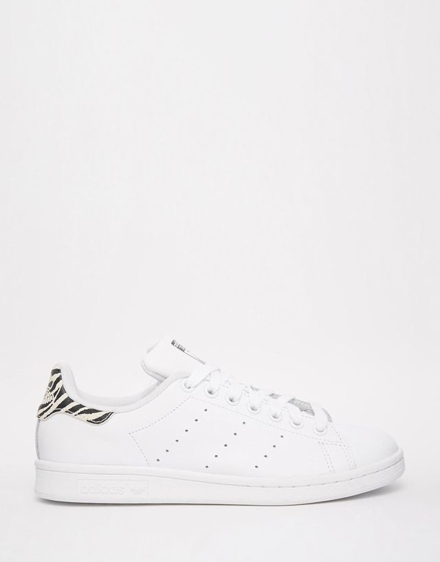 Adidas Originals Stan Smith W Animal Print Trainers