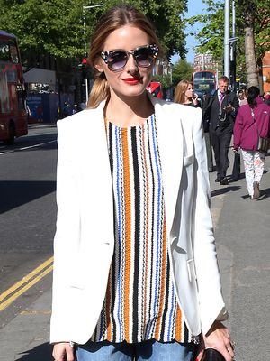 Olivia Palermo Wears Her Zara Top for the Second Time in a Row