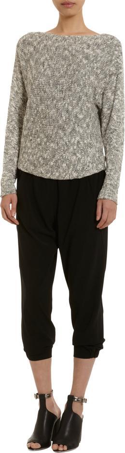 Vince Textured Melange Sweater