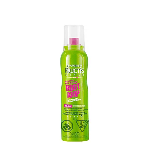 Garnier Fructis Style Full & Plush Root Amp Root Lifting Spray Mousse