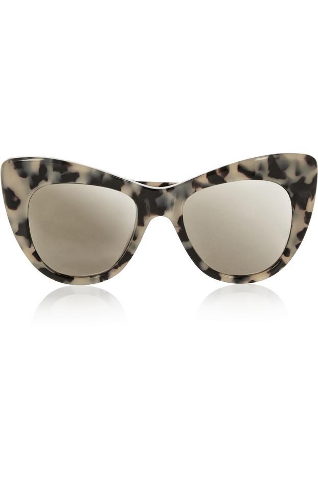 Stella McCartney Tortoiseshell Cat Eye Acetate Sunglasses