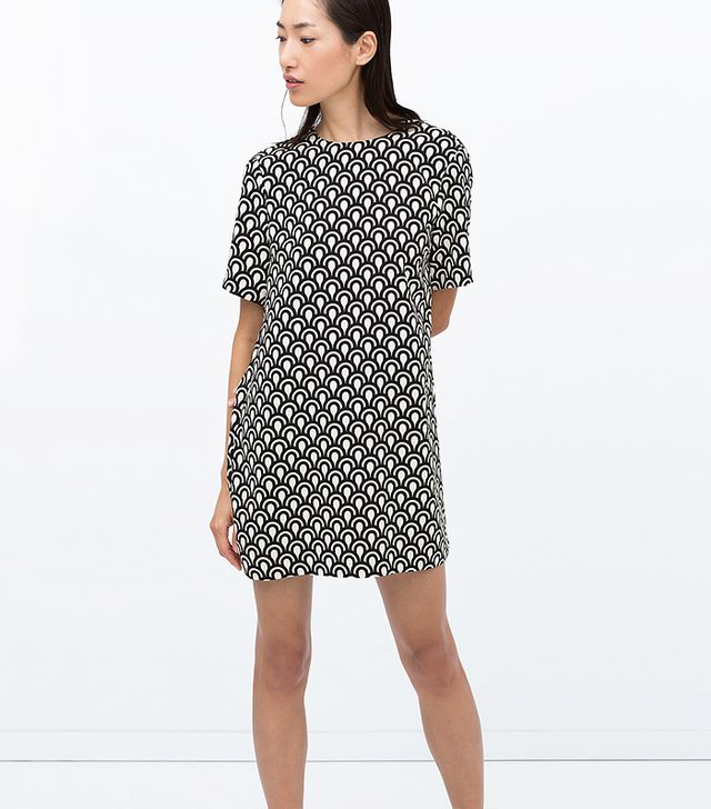 Zara Printed Dress