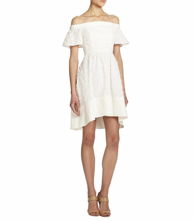 Tibi Sakura Off-Shoulder Dress