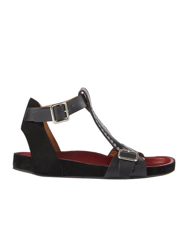 Isabel Marant Embellished Layne T-Strap Sandals