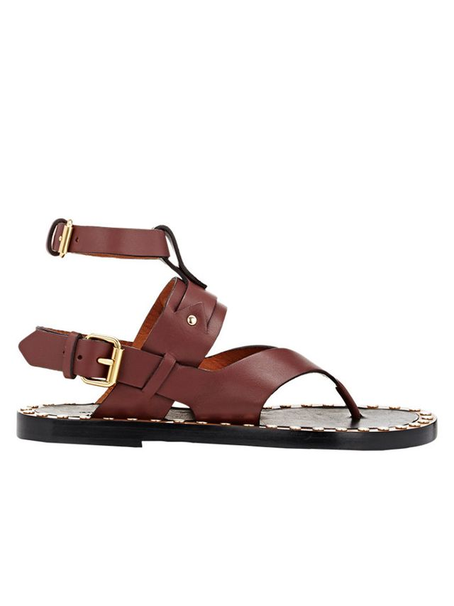 Isabel Marant Studded Justy Sandals