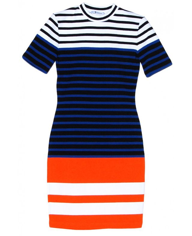 T by Alexander Wang Stretch Stripe Engineer Dress