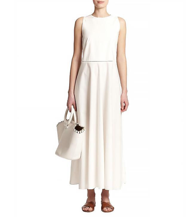 The Row Hera Cotton Midi Dress