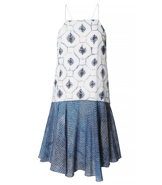 Tibi Akiko Print Dress