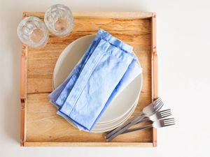 How to Make Your Own Dip-Dyed Napkins