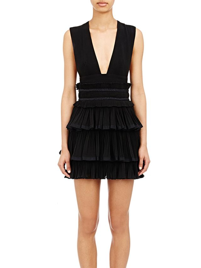 Isabel Marant Gauze Pleated Glory Dress