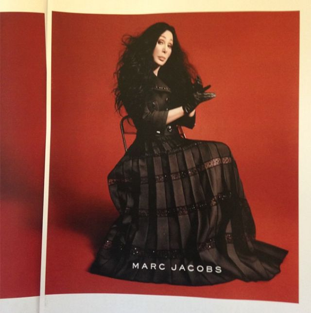 This 69-Year-Old Superstar Is the New Face of Marc Jacobs