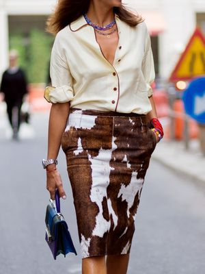This Stylish Look Makes Us Miss the Pajama Dressing Trend