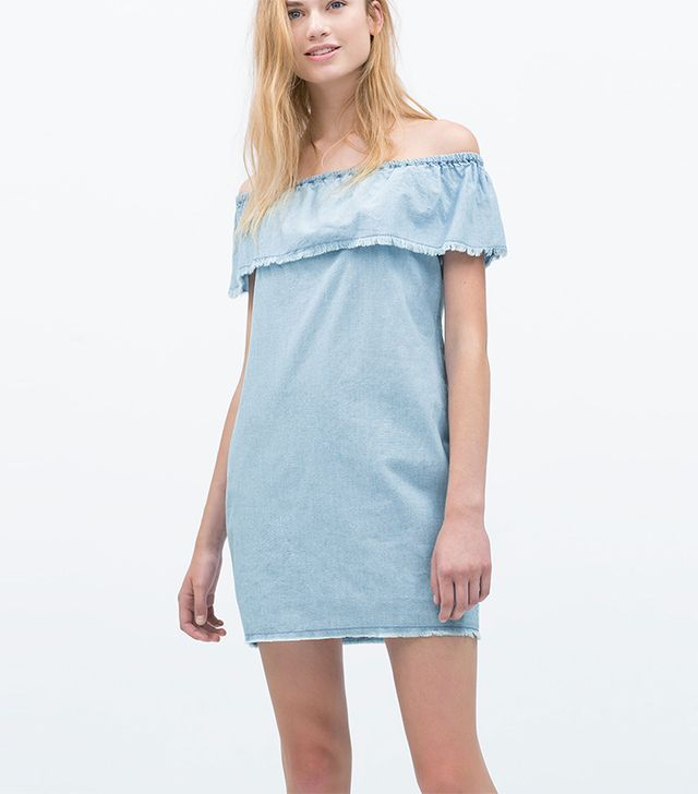 Zara Chambray Dress