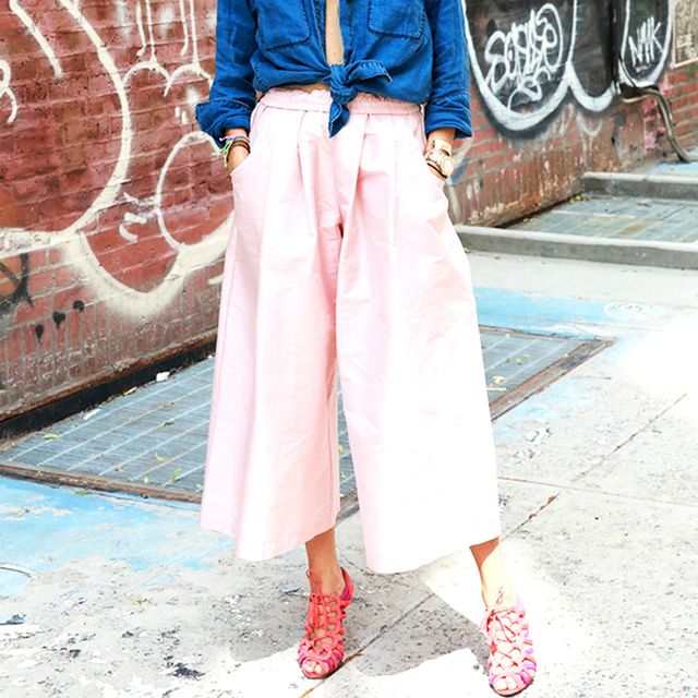 We Asked Guys on Tinder How They Feel About Culottes