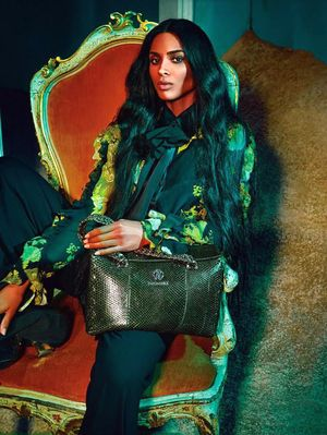 Ciara Looks Mind-Blowingly Gorgeous in the New Roberto Cavalli Ads