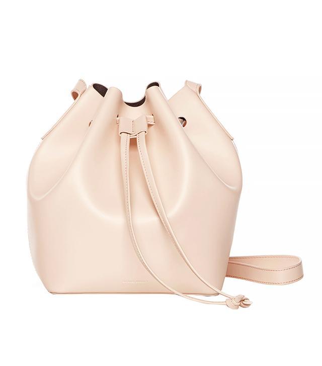 Rachael Ruddick Beach Bucket Bag in Blush