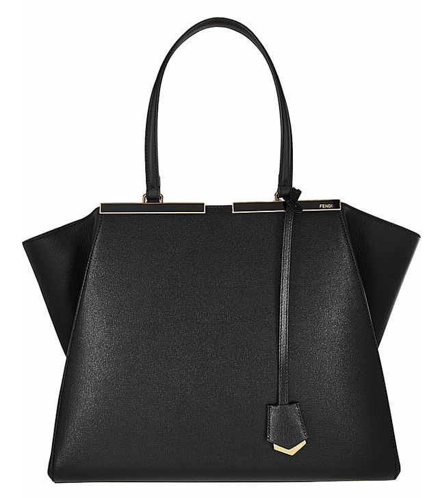 Fendi 3Jours Medium Textured-Leather Tote