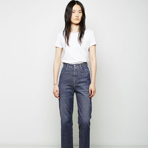 Stone Washed Baggy Pants