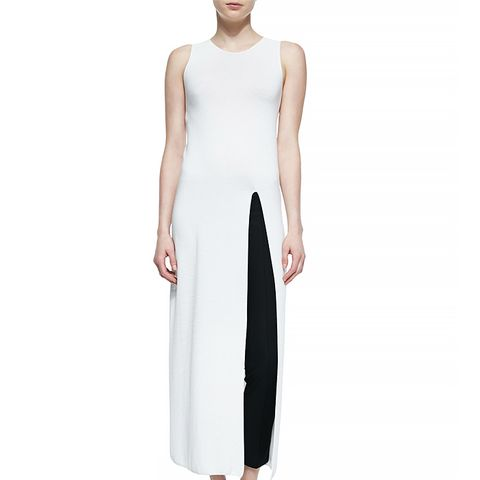 Erine High-Slit Long Dress
