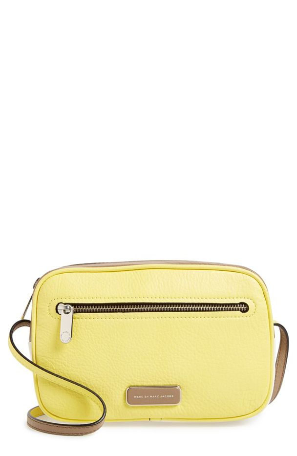 Marc by Marc Jacobs 'Sally' Colorblock Leather Crossbody Bag