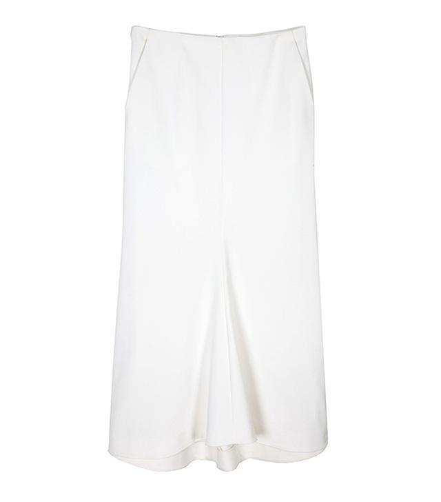 Tibi Agathe Fluted Skirt