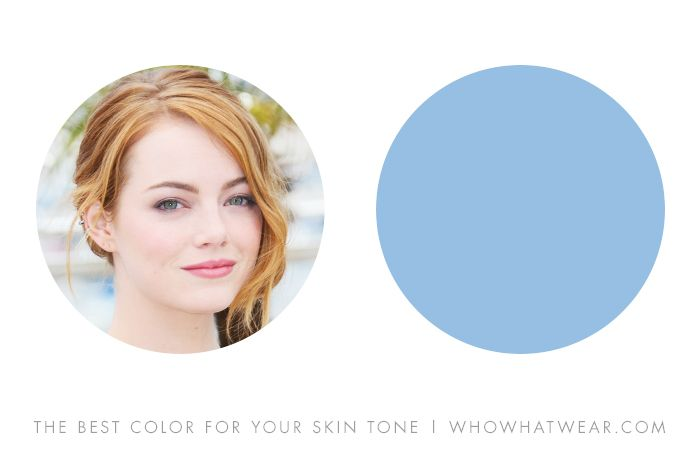 The Single Most Flattering Color For Your Skin Tone Who What Wear