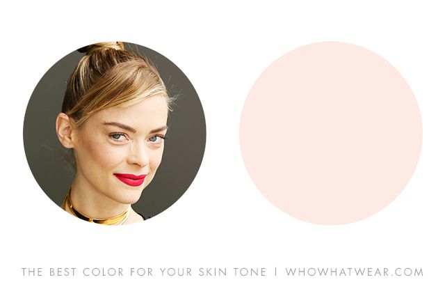 """Neutral skins are boosted with some touch of pink, both warm and cool, especially in the blush-pink range."" — Leatrice Eiseman, author of More Alive With Color