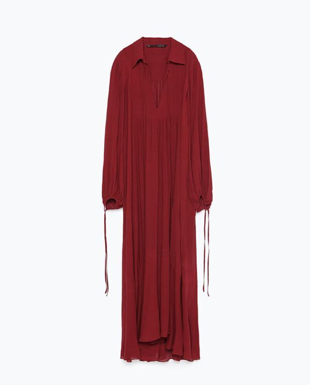 Zara Long Studio Dress