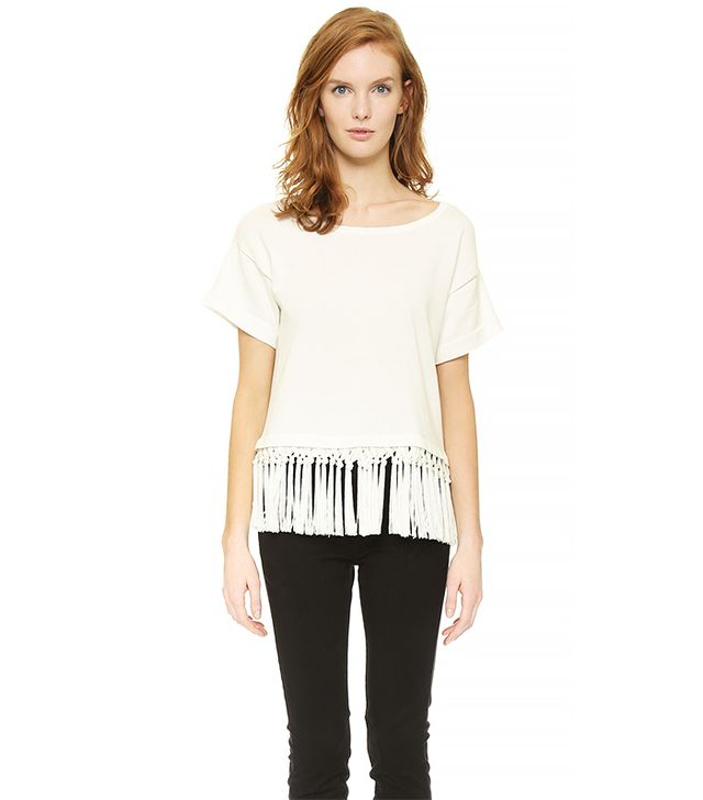 Milly Braided Fringe Top