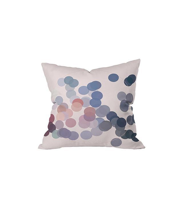 Dot & Bo Spotty Record Outdoor Throw Pillow