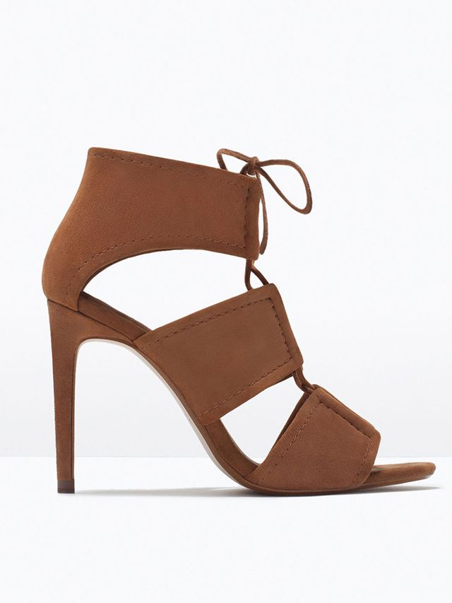 Zara Wrap Around Leather Sandals