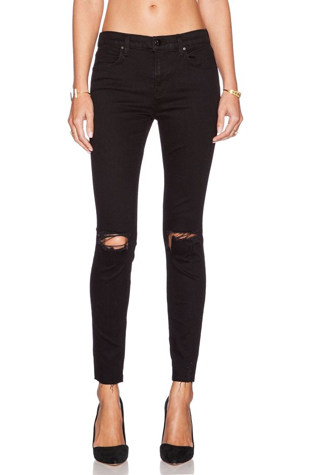 J Brand x Revolve Exclusive Mid Rise Skinny Jeans