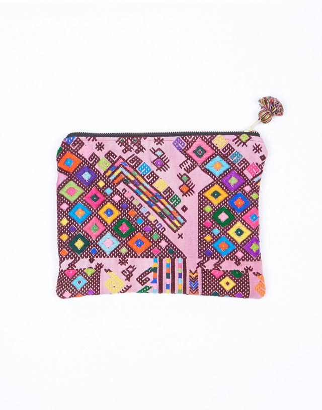 The Little Market Woven Cosmetic Reina Bag