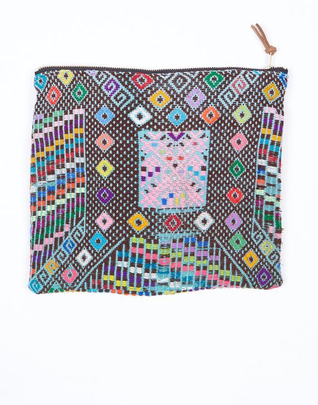 The Little Market Big Woven Eva Bag
