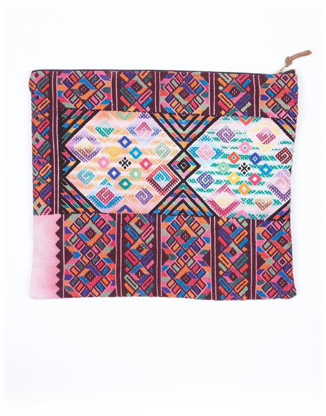 The Little Market XL Woven Sofia Bag