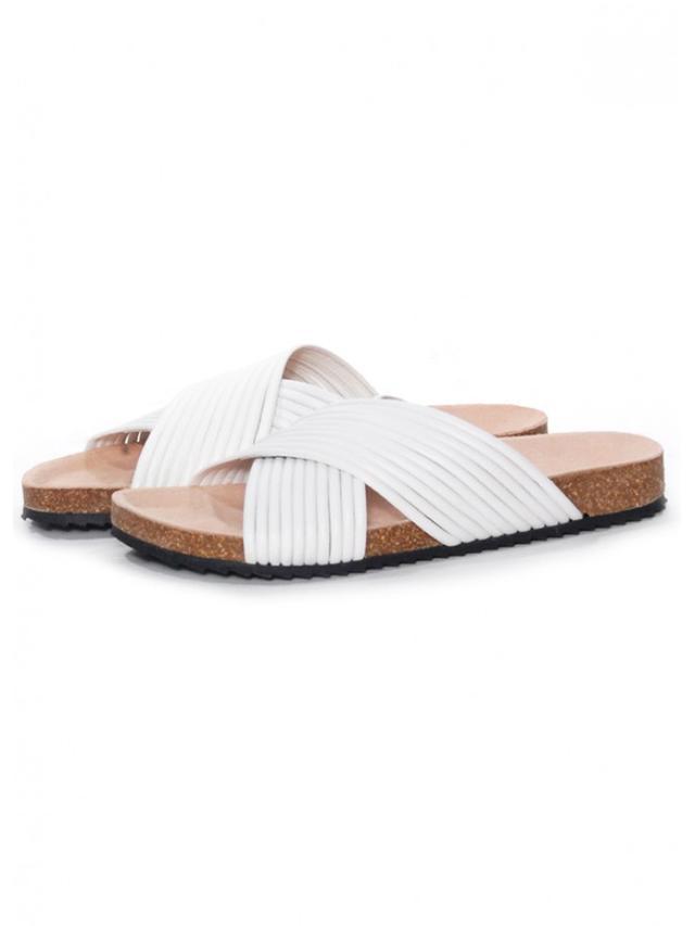 Loeffler Randall Petra Cross-Strap Sandals