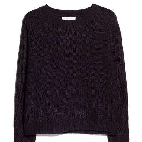 Mango Reverse Knit Sweater