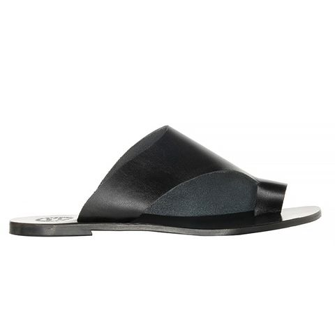 Rosa Black Sandal