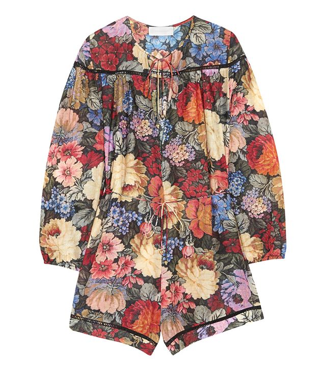 Zimmermann Trinity Printed Playsuit