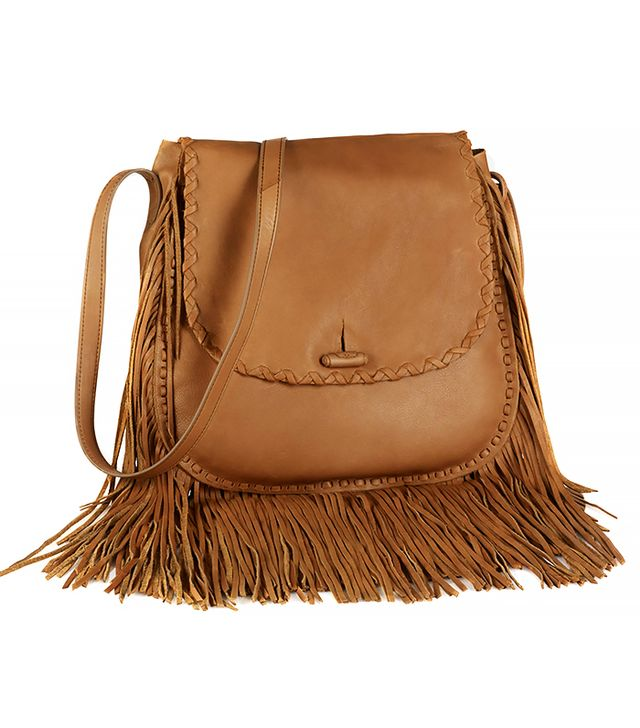 Ralph Lauren Large Fringe Shoulder Bag
