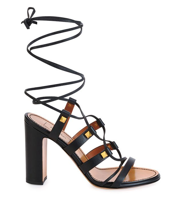 Valentino Rockstud High-Heel Gladiator Sandals