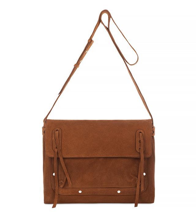 Coccinelle Shoulder Bag in Suede