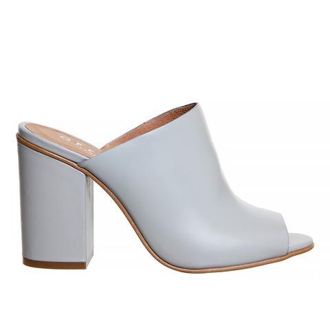 Pose Block Heel Mule