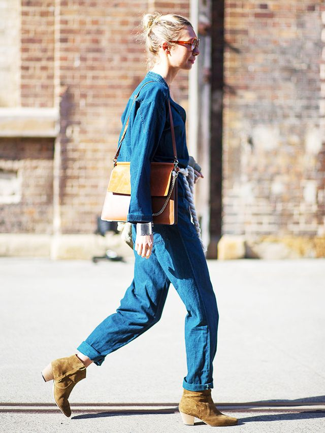 You know those days when you just can't bear to put together an outfit? Well, Aussie ladies have your solution: the denim jumpsuit. This versatile piece is easily dressed up with heeled...