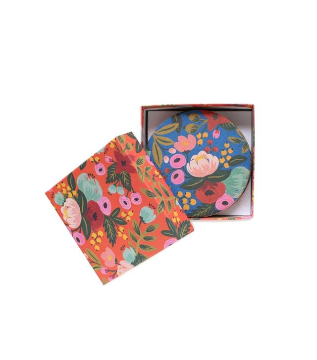 Rifle Paper Co. Floral Coaster Set