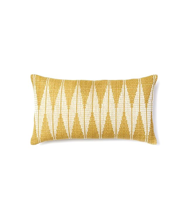 West Elm Hand-Loomed Chevron Diamond Pillow Cover