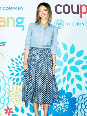 Jessica Alba's Ladylike Ensemble Gives Us Office Outfit Inspiration