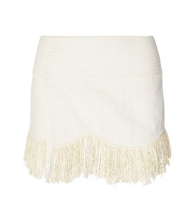 Isabel Marant Natacha Fringe Mini Skirt