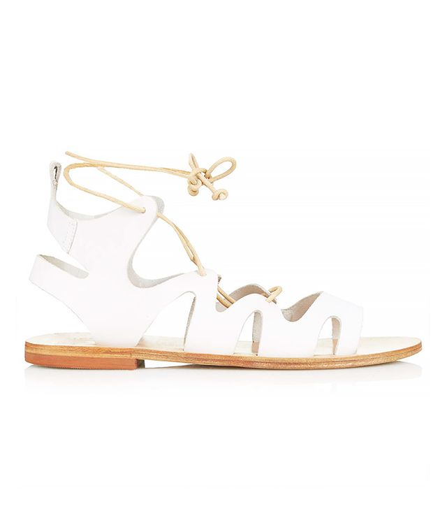 Topshop Fig Lace-Up Sandals